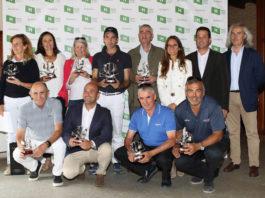 El colaborador de El Mentor Pedro González, ganador de un torneo de golf