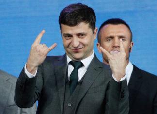 El presidente electo de Ucrania, Volodimir Zelinski.   Agencia EFE